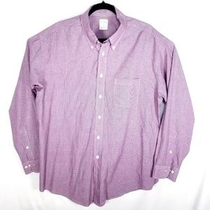 Brooks Brothers Mens XL Blue Red Check Mint Con
